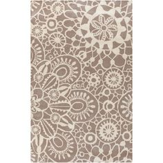Kate Spain :Hand-Tufted Caiden Floral Indoor Rug (5' x 8')