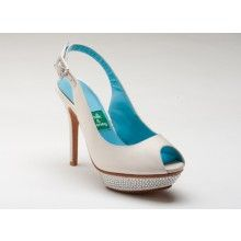 Dazzled Sling Back - perfect weddding shoe