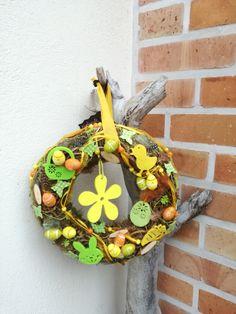 Türkränze - Osterwiese - ein Designerstück von TinaKreativ bei DaWanda Designer, Wreaths, Etsy, Halloween, Home Decor, Easter Activities, Decoration Home, Door Wreaths, Room Decor