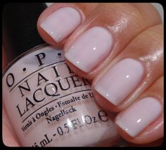 beautiful nails come true! opi- don't burst my bubble-I don't usually buy expensive nail polish but Nail Lacquer, Opi Nail Polish, Opi Nails, Nude Nails, Nail Polish Colors, Nail Polishes, Shellac, Acrylic Nails, Essie