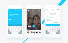 Live streaming with chat app | #ui #ux #userexperience #website #webdesign #design #minimal #minimalism #art #white #orange #blue #travel #map #ecommerce #fashion
