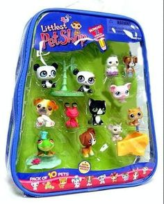 Littlest Pet Shop Exclusive Mega 10-Pack of Pets in Carry Case by Hasbro. $149.95. You've just welcomed lots of new friends into your very own LITTLEST PET SHOP collection, where all your pet-lovin dreams come true. Collect from over 100 different pets to add to your collection (sold seperately). And now that you have started your very own Littlest Pet Shop collection. 10-pack of cute pets and accessories come in a zippered tote which includes Horse, Seahorse & Husky. Come...