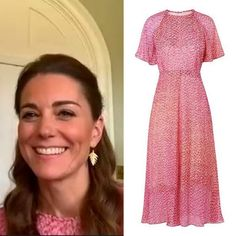 Kate Middleton Hosts Bingo From Home in Norfolk in Repeat LK Bennett - Dress Like A Duchess Kate Middleton Jewelry, Kate Middleton Style, Duchess Kate, Duchess Of Cambridge, Lk Bennett Dress, Catherine The Great, Royal Fashion, Classic Fashion, Royal Engagement