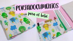 Tutorial en video paso a paso para hacer un portadocumentos para el bebé. Incluye patrón. Tela disponible en: https://www.ulalatela.com/collections/telas-infantiles/products/tela-jungla-leones-elefantes #tutorialescosura #tutorialportadocumentos