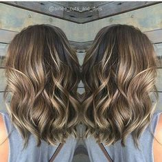 See today's most trendy haircuts for medium length hair.