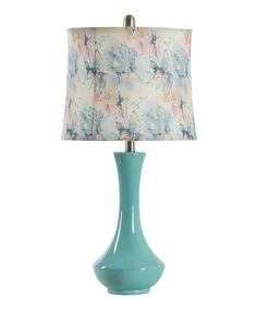 Another great find on #zulily! Blue Butterfly Table Lamp #zulilyfinds