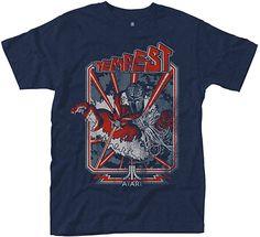 Tempest Art Tee for Men, Blue. Gamer T Shirt, Retro Gamer, Tee Shirts, Tees, Summer Tops, Funny Tshirts, Mens Tops, Gaming, Link