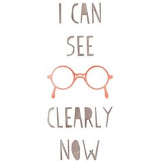 "Inspirational Art ""I Can See Clearly Now"" Typography Print... ❤ liked on Polyvore featuring home, home decor, wall art, inspirational quotes posters, motivational wall art, calligraphy wall art, inspirational wall art and quote wall art"
