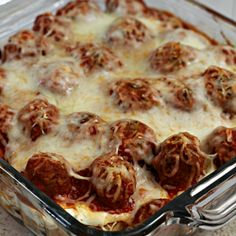 Meatball Sub Casserole | Julie's Eats & Treats