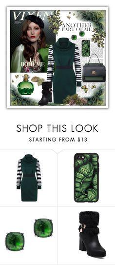 """Green Elegance"" by kmorena ❤ liked on Polyvore featuring Casetify, Lauren Ralph Lauren, GREEN, dress, formal, Elegant and twinkledeals"