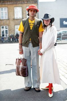 Gq, Gucci, Copenhagen Fashion Week, Panama Hat, Pants, Spring Summer, Street Style, Style Inspiration, Yellow