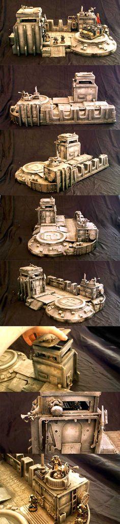 Marine Firebase Terrain