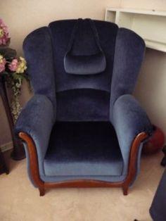sessel sofa vintage retro antik altrosa barock couch ohrensessel in