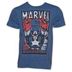 Captain America Retro Steve Rogers T-Shirt