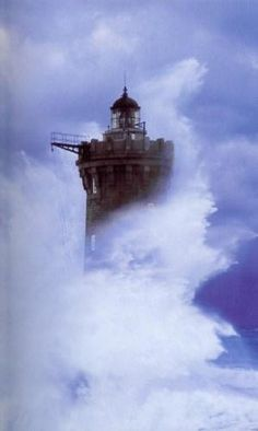 Le Four Lighthouse, Brittany France by dolly