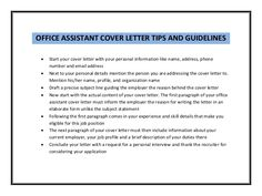 sample cover letter office assistant Essay editing service at essay writing service. Cover Letter Tips, Free Cover Letter, Cover Letter Example, Cover Letter For Resume, Sample Essay, Sample Resume, Administrative Assistant Cover Letter, Job Letter