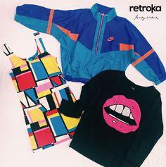 Hoy hace 29 años de la muerte de Andy Warhol, el precursor del Pop Art. Lo homenajeamos así: ► Buzo Complot ► Vestido ► Campera nylon Nik