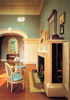 Monticello, Jefferson's Dining Room, Charlottesville, Virginia