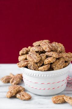 Cinnamon Sugared Pecans | Cooking Classy. ☀CQ #southern #sweets #treats