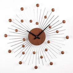 Stilnovo Starburst Wall Clock | Jet.com