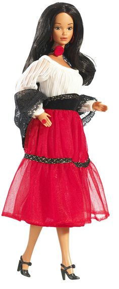 Hispanic Barbie (1980's) was the first Hispanic doll in the Barbie line named Barbie.