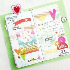 Traveler's Notebook - Listers Gotta List Challenge Pages by agomalley at @studio_calico