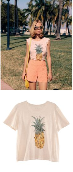 STYLE STEAL: H AND M PINEAPPLE PRINT TOP