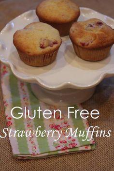 Gluten Free Strawberry Muffins - Lynn's Kitchen Adventures