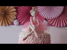 Como fazer Bailarina em tecido - parte 1 - YouTube