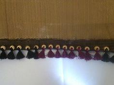 A beautifull saree tassels