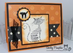 Frightening Feline Halloween Card