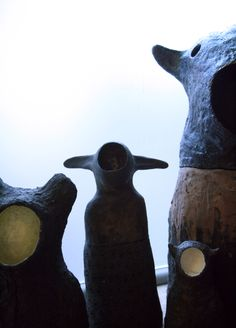Idoles sans visage  ceramics...2012  Bertrand Secret