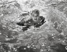 Beautiful portrait of Marilyn Monroe, taken by Lawrence Schiller on the set of…