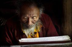 Evening prayer at Lake Manasarovar (4800 m). #Tibet  (c)Dima Chatrov