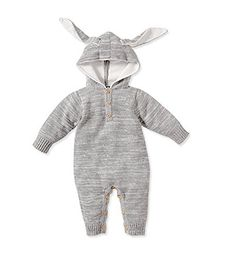 Rabbit Costume for baby for Halloween. Very cute.