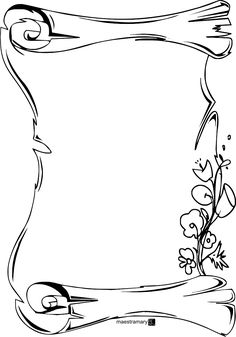 Mothers day coloring pages - printable frames and borders ClipArt Best ClipArt Best Mothers Day Coloring Pages, Adult Coloring Pages, Coloring Sheets, Coloring Books, Page Borders Design, Border Design, Borders For Paper, Borders And Frames, Doodle Borders