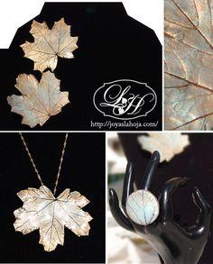 Joyas LaHoja / Botanical-inspired handmade jewelry / Joyería artesanal de inspiración botánica