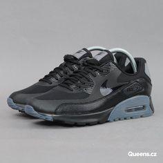 ... Nike W Air Max 90 Ultra Essential black   black - cool grey - pr pltnm  ... 06698859b65