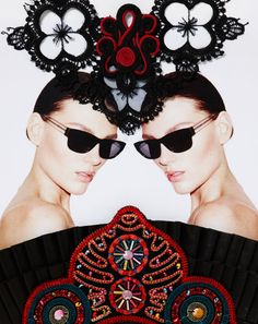 45836a5a101 Fashion pictures or video of sass   bide eyewear collection  in the fashion  photography channel  Advertising .