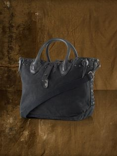 Studded Canvas Shoulder Bag - Denim & Supply  Denim & Supply Handbags  - RalphLauren.com