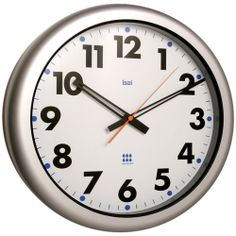 Futura White 16-Inch Aquamaster Weatherproof Wall Clock