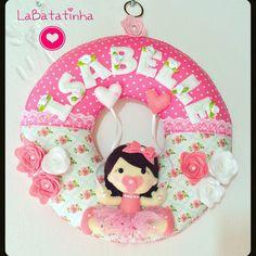 Porta Maternidade menininha