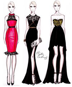 Hayden Williams Fashion Illustrations | Posted by Hayden Williams at 08:46 No comments: