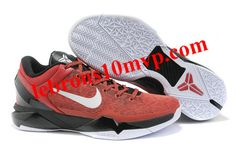 3b76a73c024b Nike Zoom Kobe 7(VII) Shoes Red Black White
