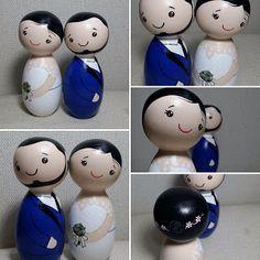 Noivinhos de Madeira by MoraAmora - Topo de Bolo e muito mais...: Dia dos Namorados - O Amor está no Ar