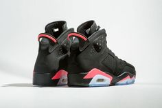 """New photos of the Air Jordan 6 """"Black/Infrared"""" are here!"""