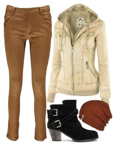 First Chilly Days by ellary-branden on Polyvore featuring Boohoo and Krochet Kids