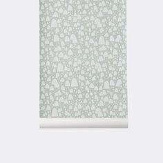 Ferm Living Mountain Tops Wallpaper - Mint | Mint Mountain Tops Wallpaper | Ferm Living