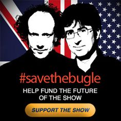 #savethebugle - If you love John Oliver, you'll do it!