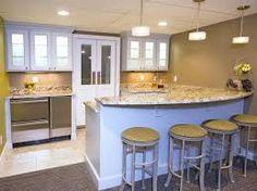 Image result for kitchenette design basement